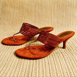 🆕 Dr Scholl's heeled Sandal Chestnut